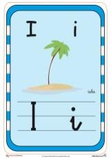 abecedario en color i