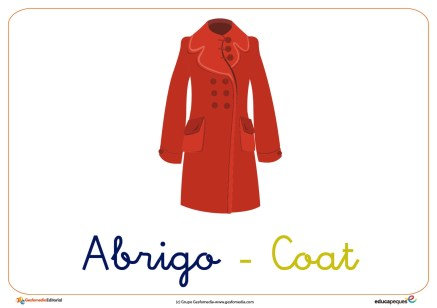 abrigo ficha ropa invierno