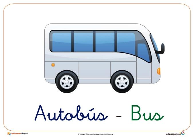 autobus ficha transporte