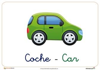 coche ficha transporte