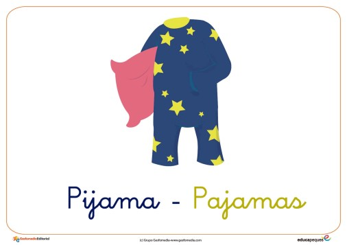 pijama ficha ropa invierno