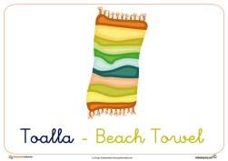 toalla ficha verano