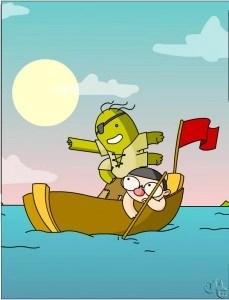 Cuento infantil de piratas