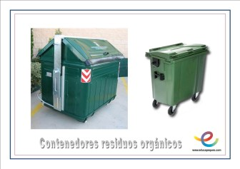 Contenedores residuos orgánicos
