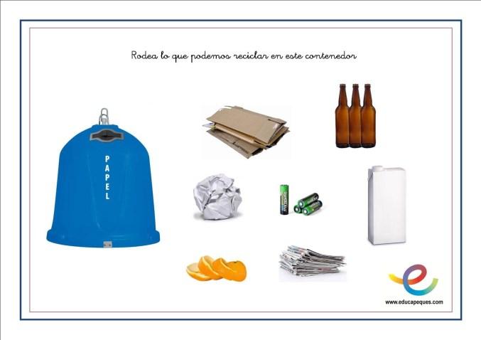 fichas para reciclar 01