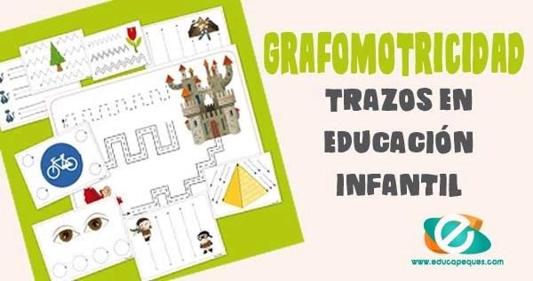 Grafomotricidad en educación infantil