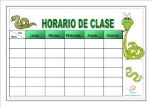 Horarios de clase 04