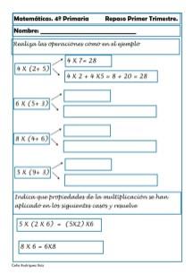Matemáticas cuarto de primaria 06