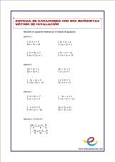 sistemas de ecuaciones,matematicas, secundaria, eso, matematicas eso, ejercicios de matematicas, fichas de matematicas