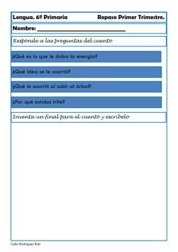 fichas de lengua sexto primaria 15
