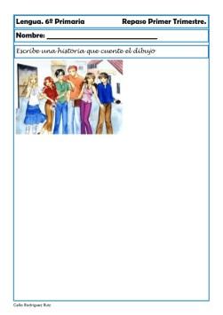 fichas de lengua sexto primaria 16