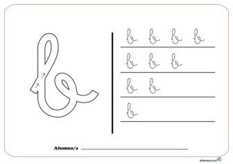 grafo consonantes b