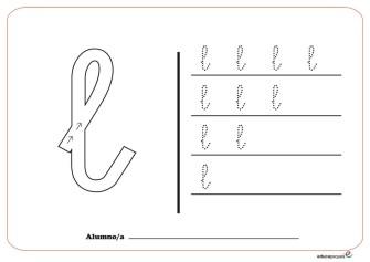 grafo consonantes l