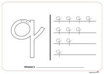 grafo consonantes q
