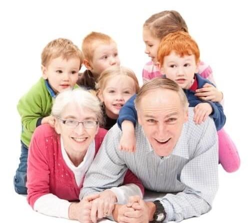 educación de los nietos