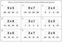 fichas de multiplicación 03