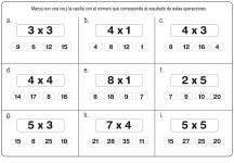 fichas de multiplicación 04