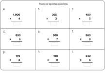 fichas de multiplicación 17
