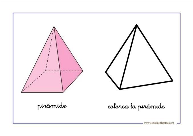 figuras geometricas piramide