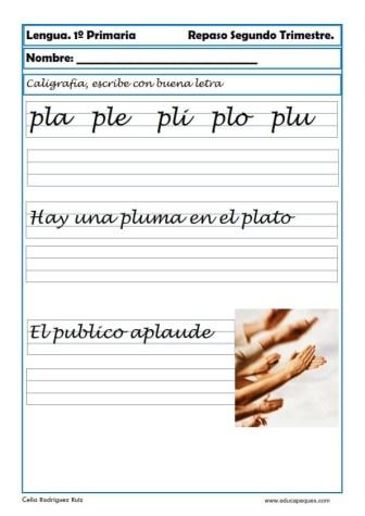 ejercicios lengua primero primaria 03