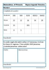 ejercicios matemáticas cuarto primaria 29