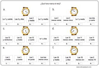 la hora relojes analogicos 02