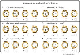 la hora relojes analogicos 06