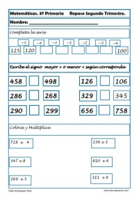 matemáticas tercero primaria 05