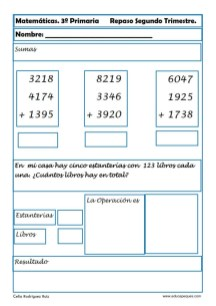 matemáticas tercero primaria 06