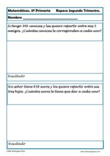 matemáticas tercero primaria 19