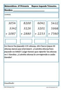 matemáticas tercero primaria 20