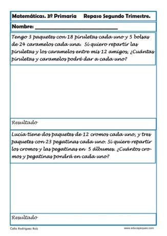 matemáticas tercero primaria 25