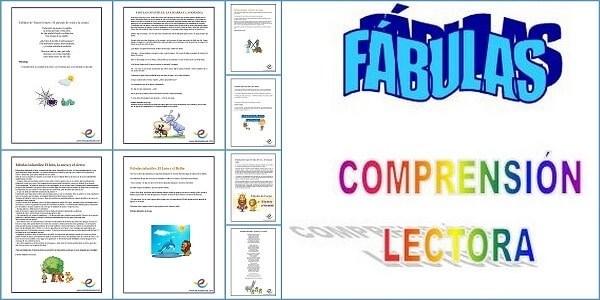 Textos Y Fábulas Para Comprensión Lectora