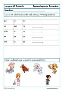 fichas lengua primaria 05