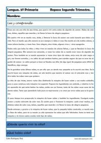 Fichas lengua quinto primaria 14