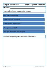 Fichas lengua quinto primaria 22