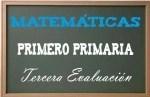 Matemáticas Primero Primaria 3