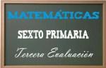 Matemáticas Sexto Primaria 3