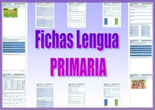 lengua, lenguaje, fichas de primaria, lengua primaria, comprensión lectora, recursos educativos