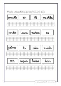 ejercicios de lengua 5