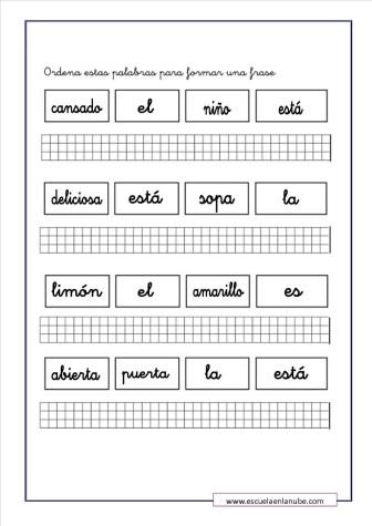 ejercicios de lengua 7