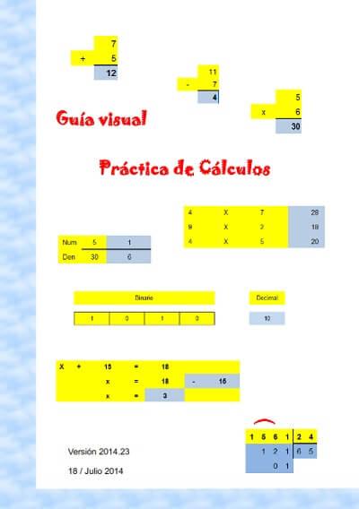 Aplicación refuerzo educativo matemáticas primaria. Actualización