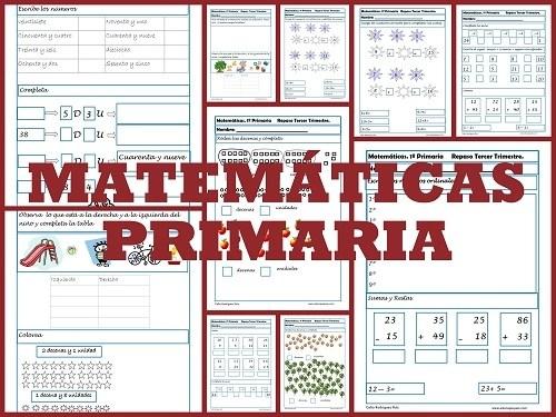 matemáticas primero primaria