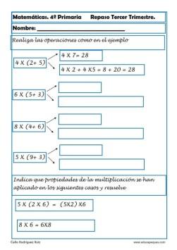 matemáticas cuarto primaria 06