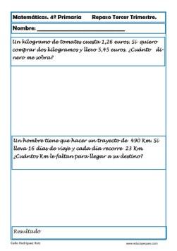 matemáticas cuarto primaria 17