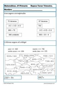 matematicas segundo primaria23
