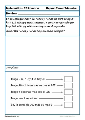 matematicas segundo primaria29