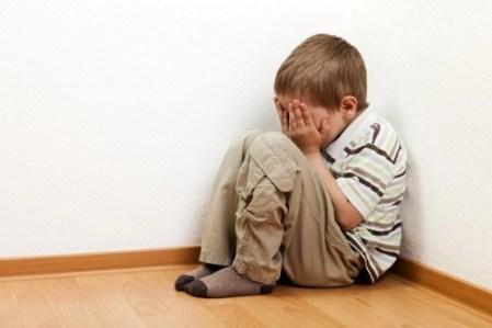 depresión niños, niños inseguros, como son los niños inseguros