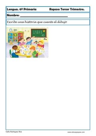ejercicios lengua sexto primaria 12
