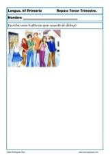 ejercicios lengua sexto primaria 16